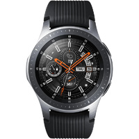 "SAMSUNG GALAXY WATCH 46MM BLUTOOTH Wi-Fi GPS (SILVER) SM-R800 ""AUSLUCK"""