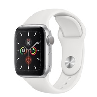 "APPLE WATCH 44MM ALUMUNIM WHITE BAND MWWC2X/A [SERIES 5] CELLULAR ""AUSLUCK"""