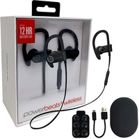 "BEATS BY Dr. Dre POWERBEATS 3 WIRELESS (BLACK) NEW ML8V2PA/A ""AUSLUCK"""