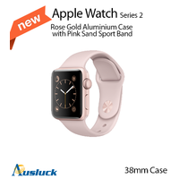 "APPLE WATCH SPORT SERIES 2 38MM ROSE GOLD ALUMINIUM CASE PINK SAND ""AUSLUCK"""