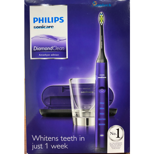 "PHILIPS SONICARE HX9372/04 DIAMONDCLEAN ELECTRIC TOOTHBRUSH - AMETHYST  ""AUSLUCK"""
