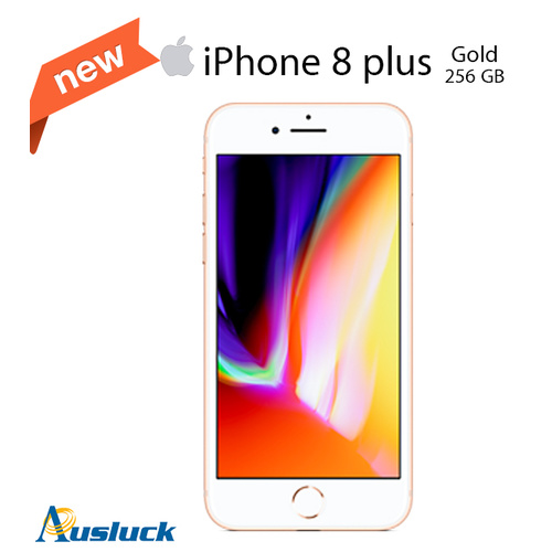 "APPLE IPHONE 8 PLUS 256GB GOLD UNLOCKED BRAND NEW MQ8J2X/A ""AUSLUCK"""