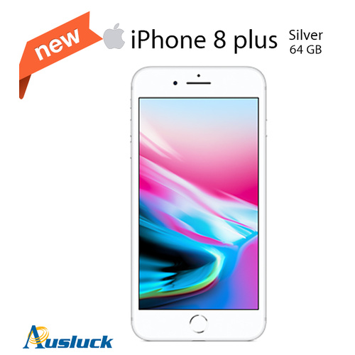 "APPLE IPHONE 8 PLUS 64GB SILVER UNLOCKED BRAND NEW MQ8E2X/A ""AUSLUCK"""